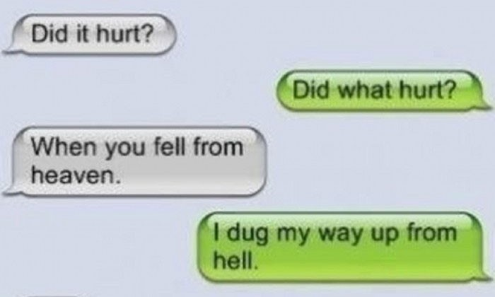14 gross and awkward texts ever received from strangers on dating websites
