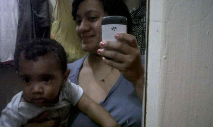 Felicia Barahona was found on the living room floor with an electrical cord wrapped around her neck and her son, Miguel, was discovered in the bathtub, according to the police.PHOTO: FACEBOOK/FELICIA BARAHONA