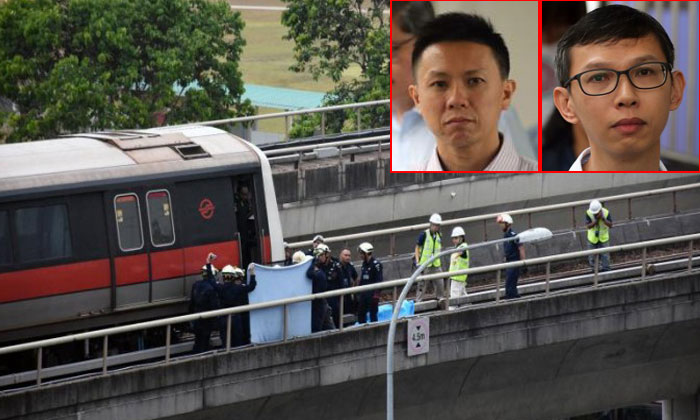 2 train staff killed in accident: SMRT and 2 employees charged in court