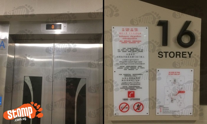 Circuit Road resident left frustrated after lifts at BLK 18C break down