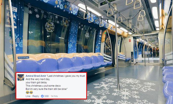 Singaporeans reply to ST's Christmas jingle caption with hilariously savage parodies
