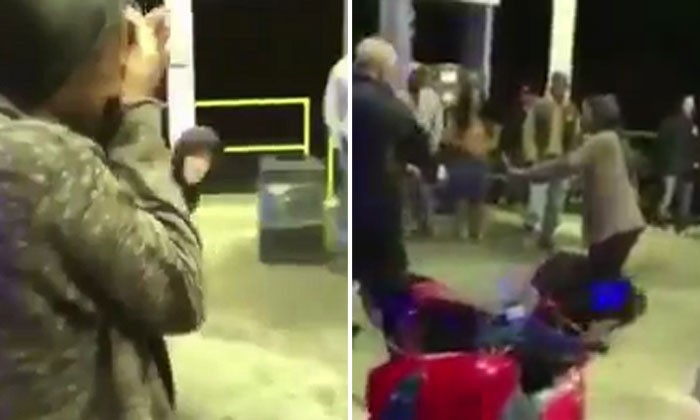 Woman protects boyfriend from getting arrested -- only to get the surprise of her life