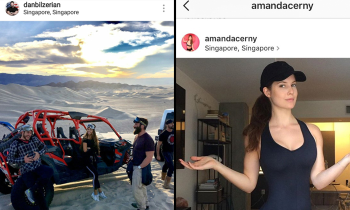 Millionaire playboy mistakenly tags Instagram photo's location as 'Singapore', hilarity ensues
