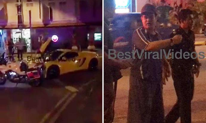 Man believed to be DJ's son charged with driving McLaren without licence, insurance and permission of owner
