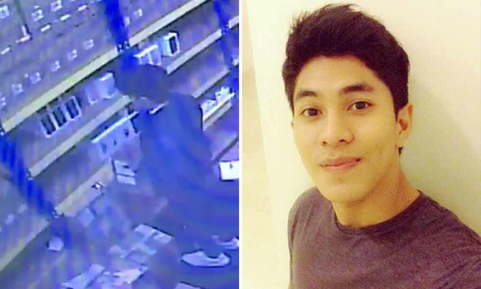 """Netizens spot """"Malaysia's Most Handsome Thief"""": He stole RM 15,000 worth of iPhone 7s"""