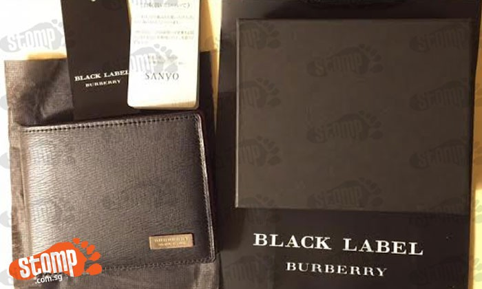 Stomper loses Burberry wallet at Jurong East -- which was given to him as a gift