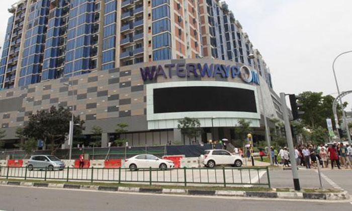 Waterway point Photo: Lianhe Wanbao
