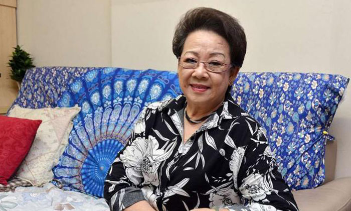 """Madam Ying brushed off any credit during the interview with The Straits Times. """"I don't think I was being brave. It's a normal thing to help someone in need, even if he is a stranger,"""" she said."""