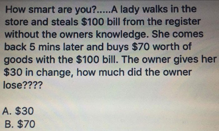 Overthinking becomes your enemy when this riddle boggles your mind