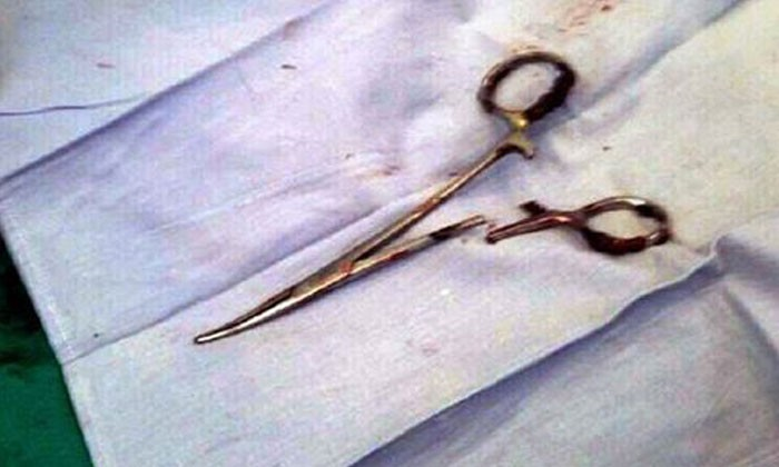 54-year-old Vietnamese man has scissors removed from stomach -- after 18 years