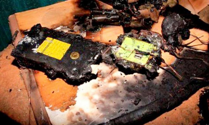 Overnight charging of batteries can result in fires, as with these electric bike batteries (above). PHOTO: SINGAPORE CIVIL DEFENCE FORCE