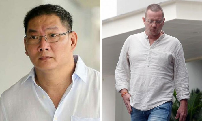 Left: Cabby Chan Chuan Heng. Right: Norwegian Arne Corneliussen. Photos: ST, TNP, Lianhe Wanbao