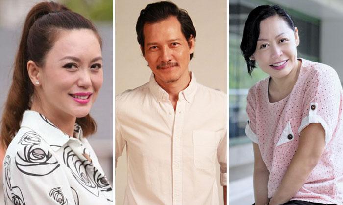 From left: Phyllis Quek, Peter Yu, Cassandra See