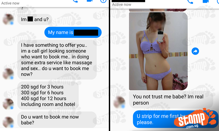Girls who want sex in singapore