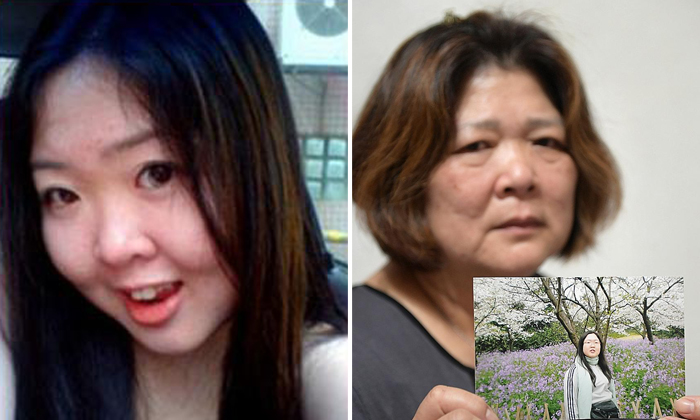 Left: Ms Elsie Lie Lek Chee, the victim. Right: Madam Chen Yoke Mooi, the victim's mother.