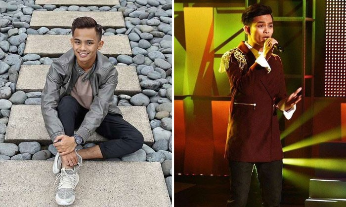 Mohd Shahfiq struggled in the early episodes of Anugerah because of low rankings, but he eventually emerged as the winner. Photos: ST, anugerah.mohdshahfiq/Instagram