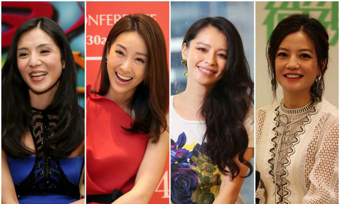 (From left) Charlie Young, Sonia Sui, Vivian Hsu and Vicki Zhao. PHOTOS: SHIN MIN, THE NEW PAPER