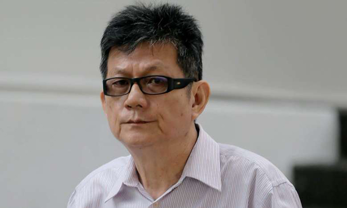 Tang Koon Huat pleaded guilty to one charge of making an electronic record containing an incitement to violence. ST PHOTO: WONG KWAI CHOW