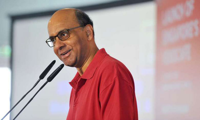The police are investigating a threatening letter sent to Deputy Prime Minister Tharman Shanmugaratnam. PHOTO: ST FILE