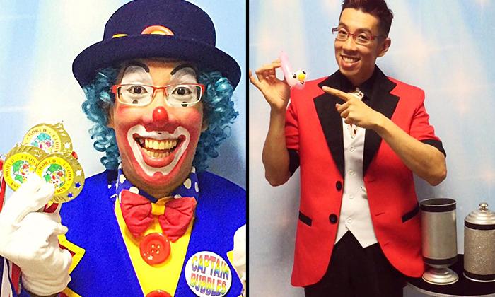 Photo: Captain Dazzle / Captain Bubbles the Magic Clown FB