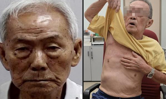 Photo: The Singapore Police Force, Lianhe Wanbao. The accused (left) the victim (right)