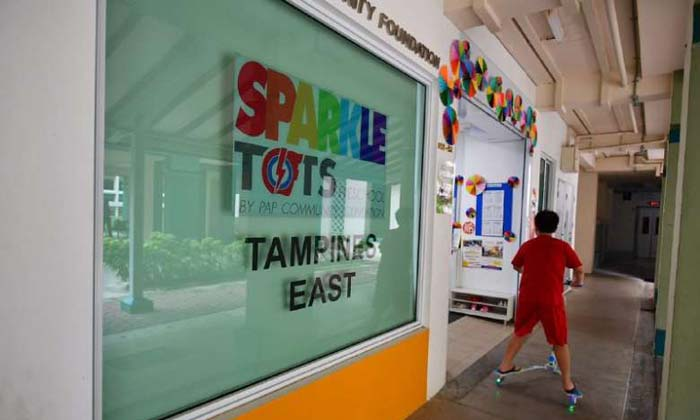 The radicalised female infant care assistant is believed to have worked at a PCF Sparkletots Preschool branch. PHOTO: THE STRAITS TIMES, LIM YAOHUI