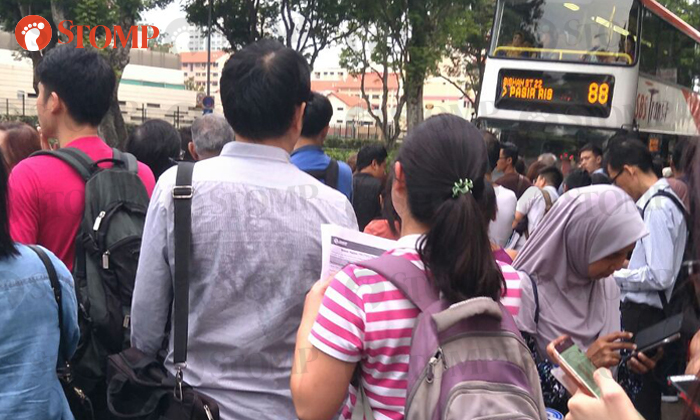 From Stomper Evelyn at Bishan MRT station