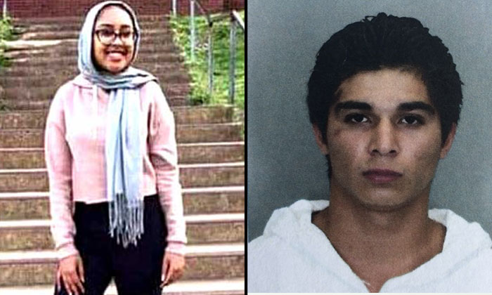 photo: Victim, Nabra (left) and Suspect, Darwin Martinez Torres (right)