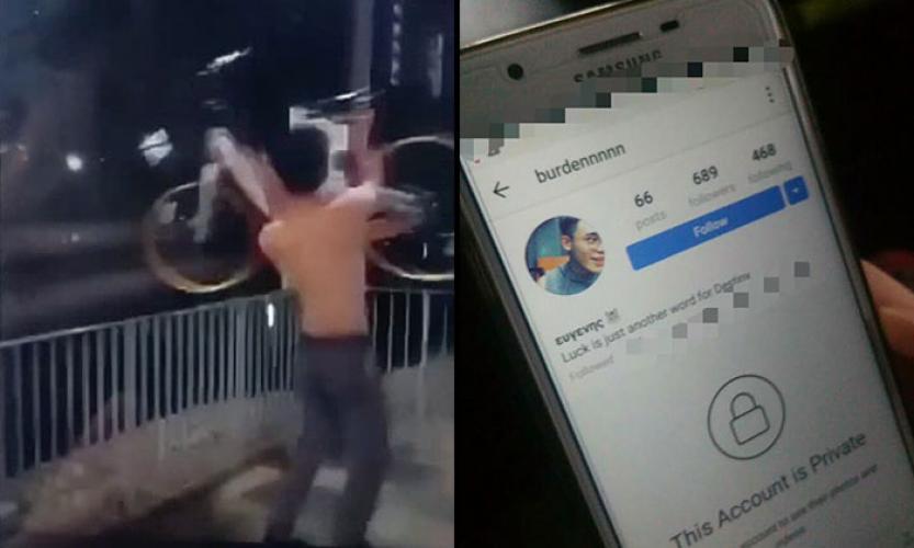 photo: Suspect's social media account (right)