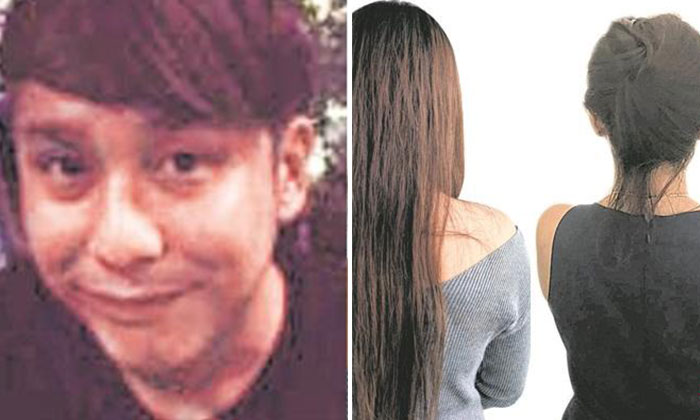 Photo: Lianhe Wanbao. Kelvin who is accused of being a serial cheater (left) and the two new victims (right)