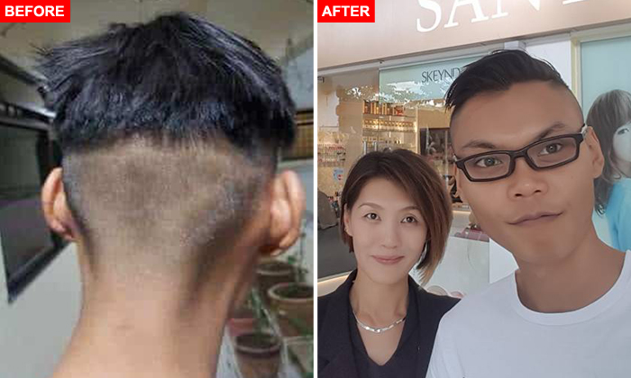 Cheap haircut singapore