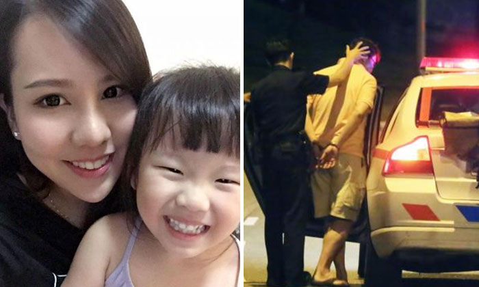 Photo: Jacelyn Wong's Facebook page (left) and Shin MIn Daily News (right)