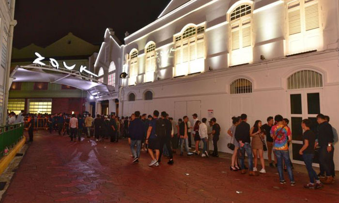 The Straits Times understands that Zouk is the nightclub involved in two of the three cases.PHOTO: ST FILE