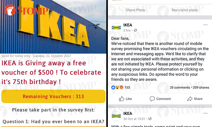 don 39 t kenna scammed ikea warns about fake website