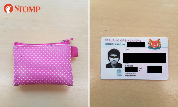 Lost wallet found at International Plaza
