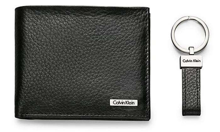 Black Calvin Klein wallet last seen at Hougang Interchange