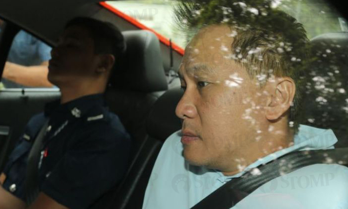 Lim Kwong Fei, 41, had allegedly ploughed into four pedestrians at Tanjong Pagar