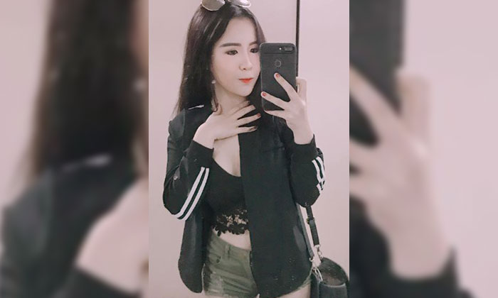 Shanie Tan, who accused a GrabHitch driver of pulling on her skirt, exposing her underwear.