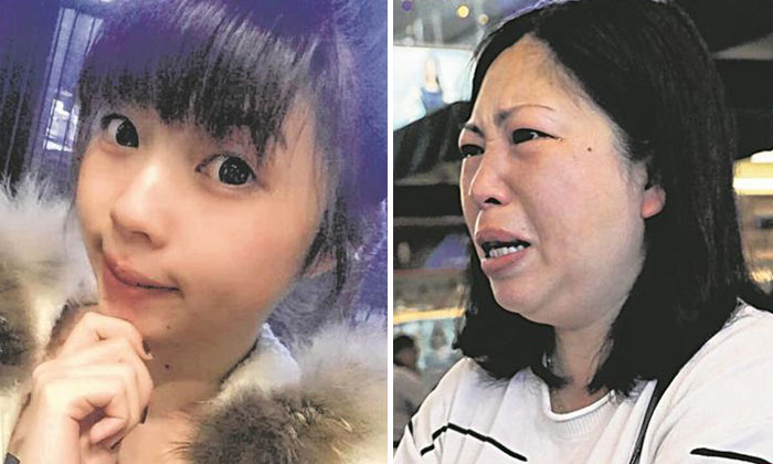 Ms Chen Yan (right) was shattered after daughter, Ms Fan Xiaojing (left) drowned in a swimming pool at Novotel Clarke Quay Singapore.