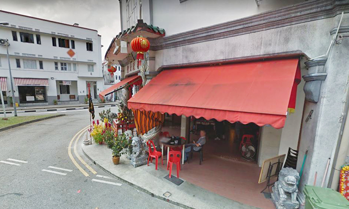 Eng Hoon Street, where the alleged theft had taken place. Photo illustration. (PHOTO: GOOGLE MAPS)