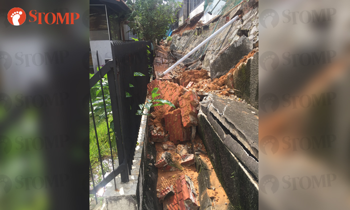 Residents on edge in Serangoon Gardens after wall collapses in Jan 8 storm