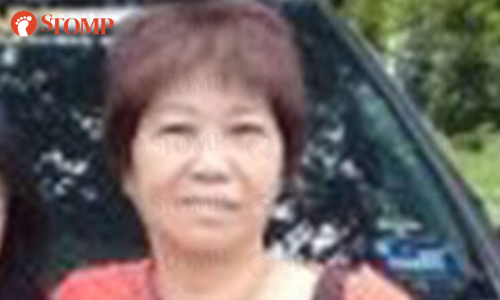 Mei San's mother-in-law (pictured) is looking for her father.