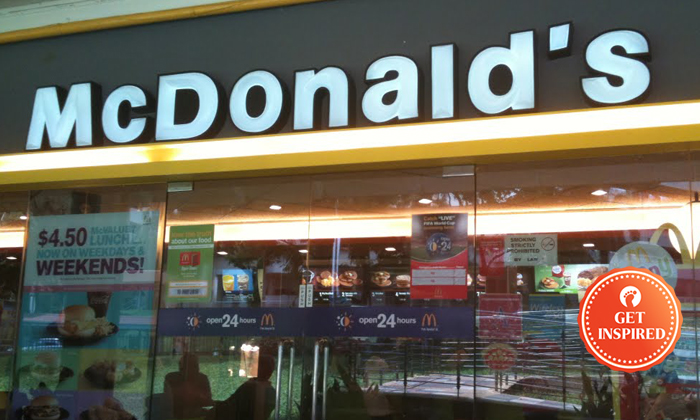 The McDonald's outlet at Block 448, Ang Mo Kio Avenue 10, where Stomper Josephine experienced good service from a 14-year-old staff member. (PHOTO: DRESS CODE FINDER)