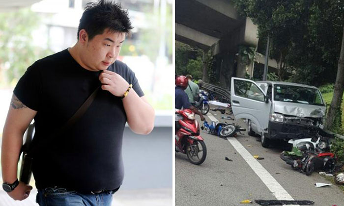 Koh Boon Ping, 25, (left) has been sentenced to 12 weeks' jail for causing death due to negligent driving.