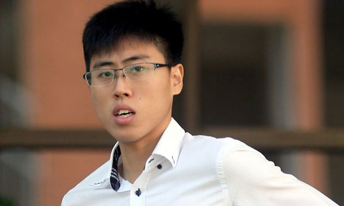 Ashton Chen Yongzhao pleaded guilty to three charges involving sexual acts with the girl, who was just 13 years old when they first met. ST PHOTO: WONG KWAI CHOW