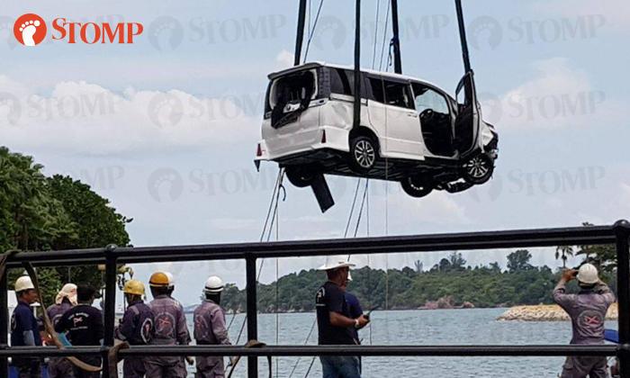 Sentosa Car Accident
