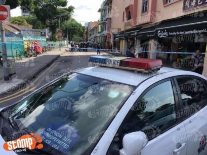 Geylang Lorong 23 murder: 64-year-old suspect taken to crime scenes