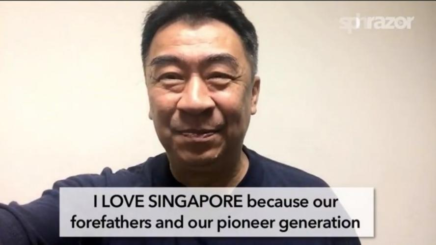 love singapore I love singaporeans the people of singapore are the ones i most identify with  too it's three wholly different cultures (chinese, malay and.