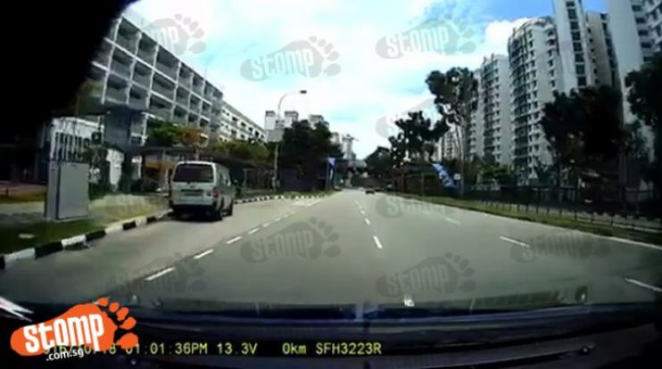 Bmw The Woodlands >> Zero regard for safety: Watch lorry driver beat red light, nearly causing accident - Singapore ...