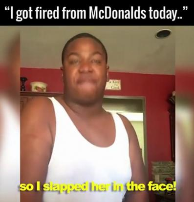 how to get fired at mcdonalds